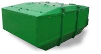 fedeles hulladéktároló konténer